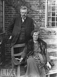 G.K. Chesterton and Frances Chesterton